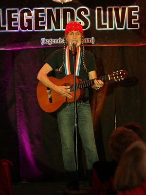 ted wilson as willie nelson, empire entertainment, legends live